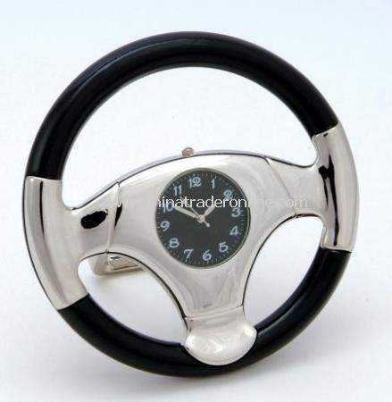 Steering Wheel Clock