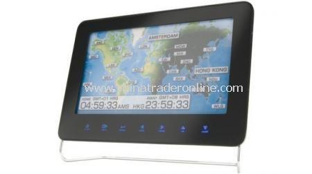 World Timer Digital Picture Frame