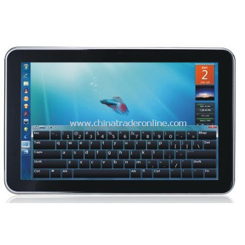 10.2inch , Intel N450 , win7, 1.66ghz, 160G/1G MID Touch pad