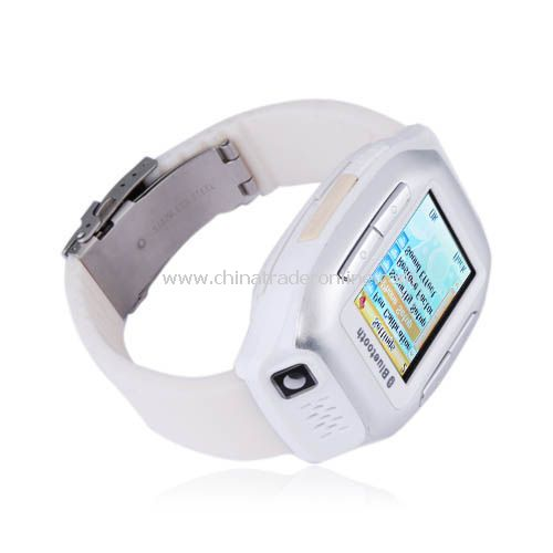 Quad Band Bluetooth Camera Touch Screen Watch Cell Phone