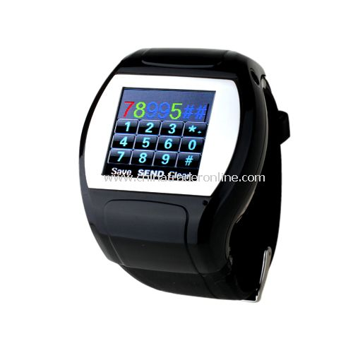 Quad Band Bluetooth FM Touch Screen Watch Cell Phone