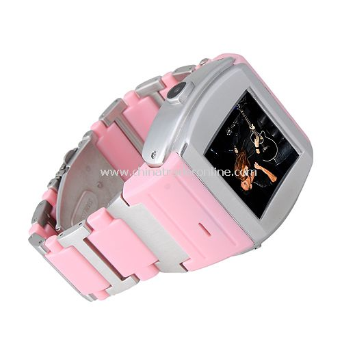Quad Band Bluetooth Touch Screen FM Watch Cell Phone