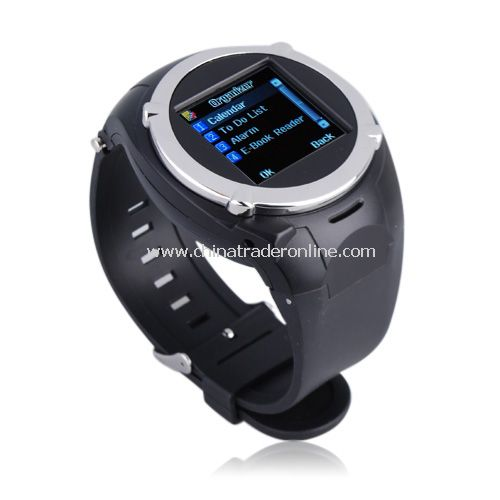 Quad Band Spy Camera 1.5 Inch Touch Screen Sports Wrist Watch