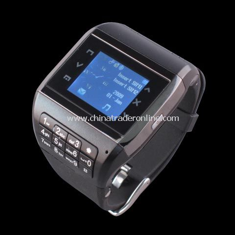 Quadband watch mobile Phone, cell phone