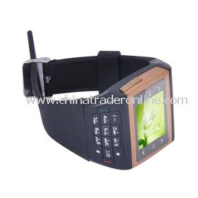 Single Card Quad Band Bluetooth Compass Touch Screen Watch Cell Phone