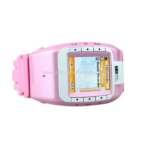 Sports Tri Band Bluetoth Mp3/Mp4 Player Watch Cell Phone