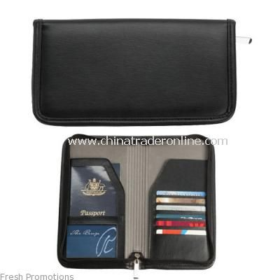 Deluxe Travel Wallets
