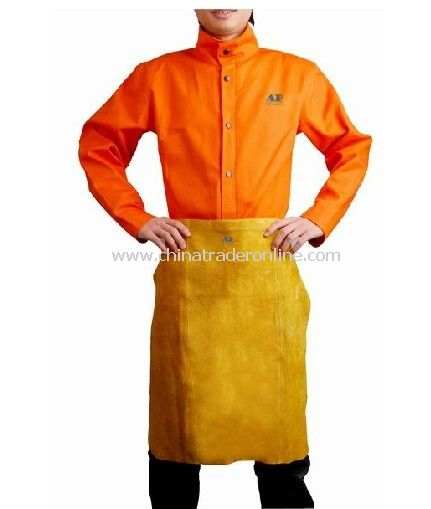 Golden Leather Waist Apron from China