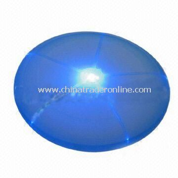 Tri-color Glow Frisbee, Can be Used as Glassed or Leisure Decoration