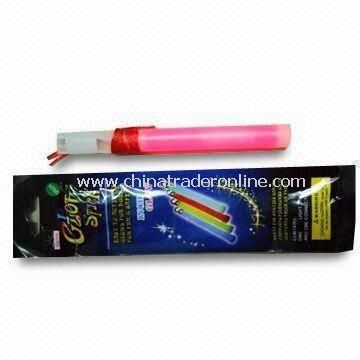 15 x 100mm Mega Glow Stick with Whistle, ASTM-, CE- and EN71-approved