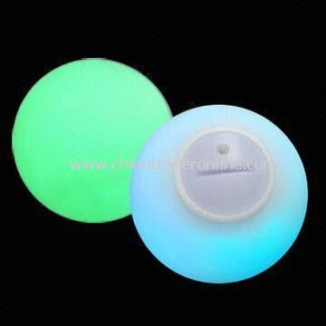 7.8cm LED Flashing Ball, Available in Various Colors