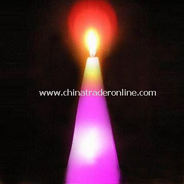 LED Flashing Candle, Suitable for Holiday and Christmas