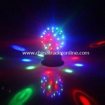 Self-rotating Mini Magic LED Stage Lighting with 16W Power, Measuring 220 x 220 x 350mm