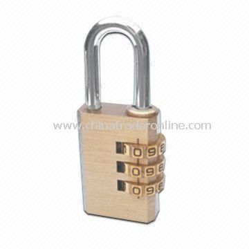 Combination Lock in Various Colors, Used for Luggage and Travel Bag