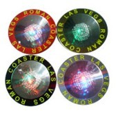 Flash LED Coaster