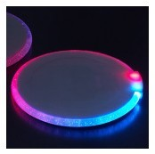 LED Flashing Light up Coaster for Bar and Promotion Gifts