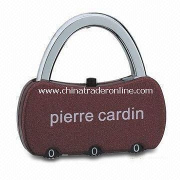Portable Combination Lock for Luggage Bags, Travel Bags and Briefcases
