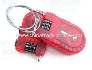 Travel Cable Combination Lock