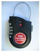 Travel Lock with Alarm