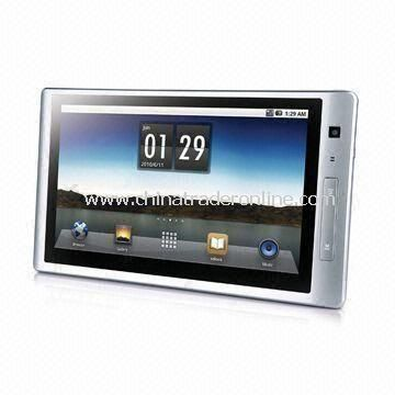 10.1-inch Tablet PC with 256MB DDR2 Internal Memory and Wi-Fi Connectivity
