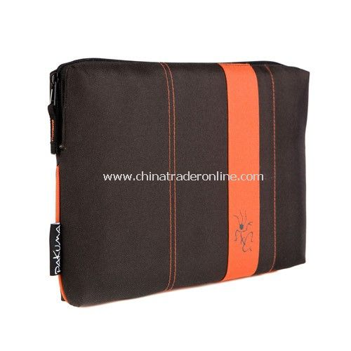 7 Tablet / Netbook Sleeve - Black & Jasper Red