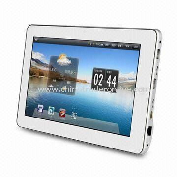 1,024 x 600p 10.1-inch Tablet PC with Wi-Fi Connectivity and 256MB DDR2 Internal Memory