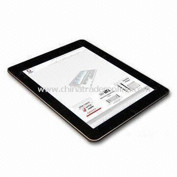 10-inch Tablet PC with 110 to 220V Input Voltages and 2,400mAh Battery Capacity
