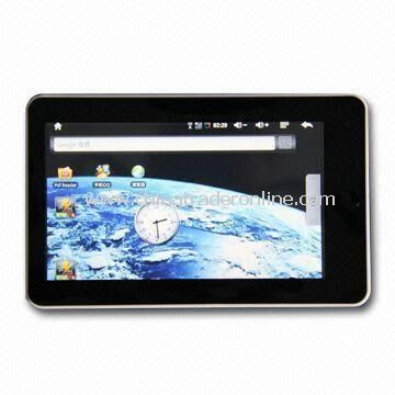 7-inch Tablet PC, Android 2.1, with Strong Open GL 3D Display Function