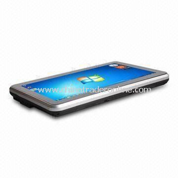 Tablet PC with 1,024 x 600 Pixels Resolution, Measures 262 x 166 x 23.5mm