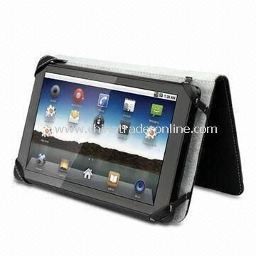 Tablet PC with 256MB DDR2 Internal Memory and Wi-Fi Connectivity