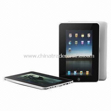 Tablet PC with 7-inch WVGA Touchscreen Display and Wi-Fi Function