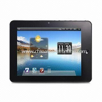 Tablet PC with Resolution of 800 x 600 Pixels, Supports JPEG, BMP, GIF, PNG, TIFF