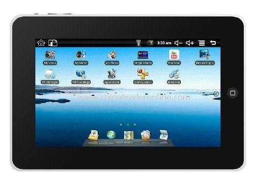 7 WVGA wide-screen Tablet PC