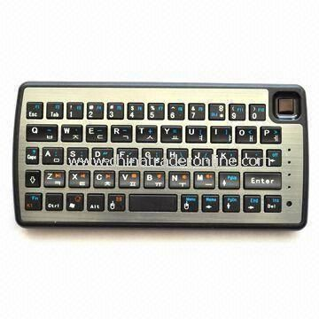 Bluetooth Keyboard, Support iPad and Sony PS3, Measures 140 x 72 x 13mm