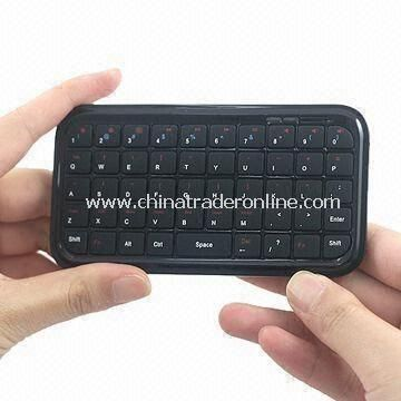 Mini Bluetooth Keyboard for Mobile Phone and Computer, Supports USB Charge