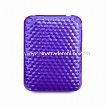Protective Sleeve for iPad, Made of TPU, with Hexagonal Diamond Pattern, Comes in Various Colors