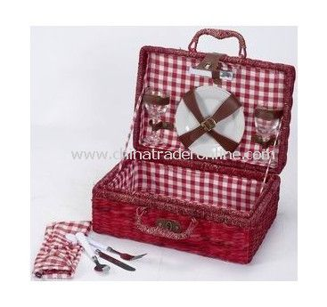Seagrass Basket for Picnic Use for 2 Persons