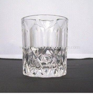 Square Engraved Shot Glass with 85ml Capacity