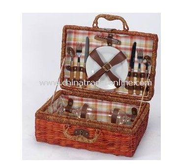 Wicker Basket for 2 Persons