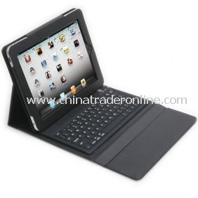2.4G Leather Case with Built-in Keyboard for iPad