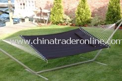 Bliss Comfort Classic Poly Quilted Hammock With S Stitch Comfort Quilt - Raven Black from China