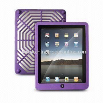 Cover for iPad, Made of Plastic Material, with Araneose Back Cover Case
