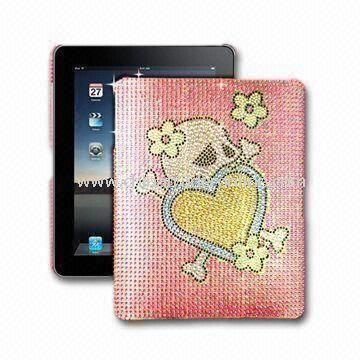 Cover for iPad, with Cartoon Design, Made of Plastic, Various Colors are Available