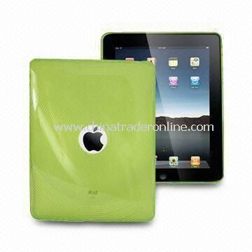 Fashionable TPU Covers for Apples iPad, Various Colors Available with Scratchproof Feature