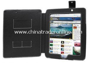 LUPO Leather Case for Apple iPad - BLACK