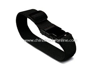 Black Luggage Strap