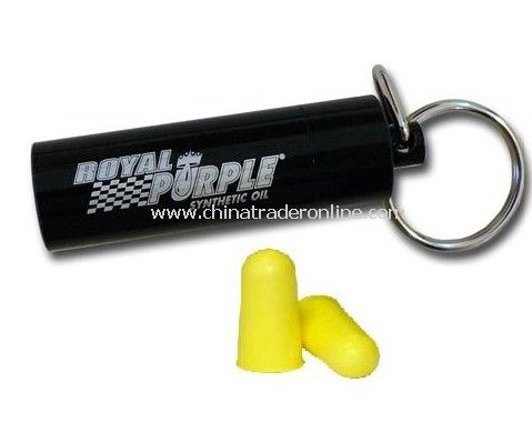 Ear Plugs With Metal Holder
