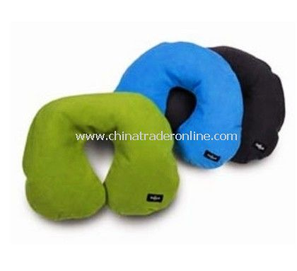 Travel Neck Pillow with Fleece Cover