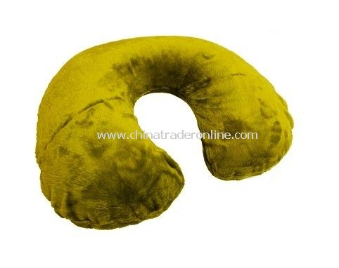 Travel Neck Pillow with Velvet Cover