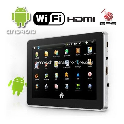 7 Inch LCD Android 2.1 OS Ramos W9 Tablet PC with WiFi and 8GB Storage